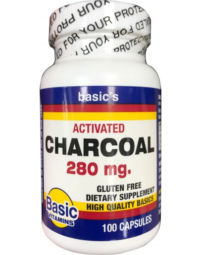 280 mg. Activated Charcoal