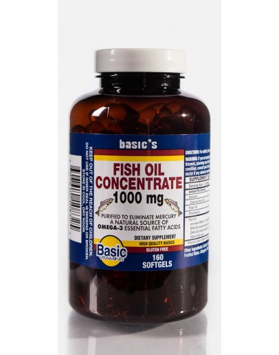 FISH OIL 1000mg. Softgels