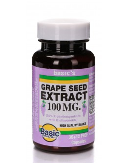 GRAPE SEED EXT. 100mg. Capsules