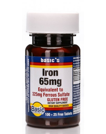 IRON Tablets 65mg.