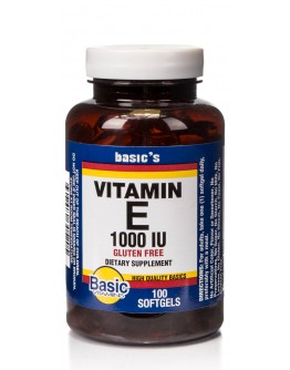 1000 I.U. VITAMIN E Softgels