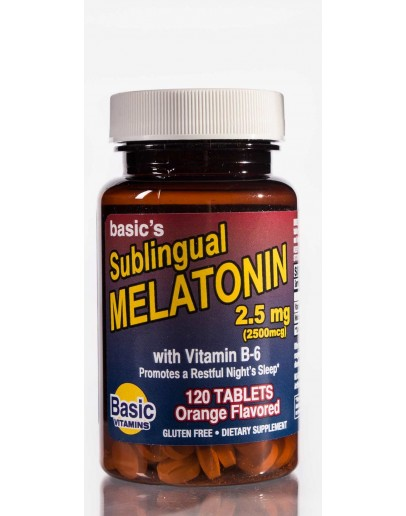 Melatonin Sublingual 2.5mg. Tablets