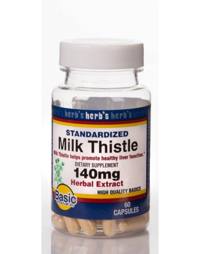 MILK THISTLE EXTRACT 140mg.