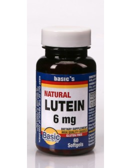 LUTEIN 6mg. Softgels