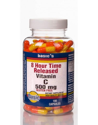 8 HOUR 500mg. T.R. Capsules