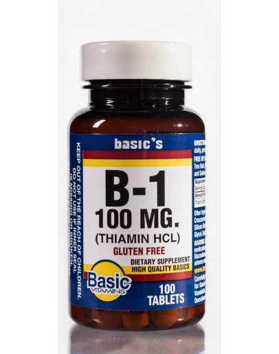 VITAMIN B-1 100mg. Tablets