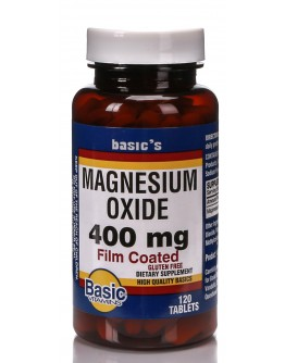 MAGNESIUM OXIDE 400mg. Tablets