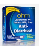 Anti Diarrheal Loperamide 2mg. tablets