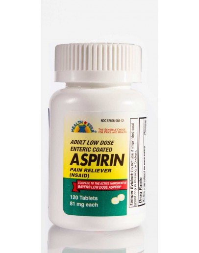 LOW DOSE 81mg. ASPIRIN Tablets