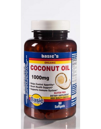 ORG. COCONUT OIL 1000MG Softgels