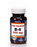 VITAMIN B-6 200mg. T.R. Tablets