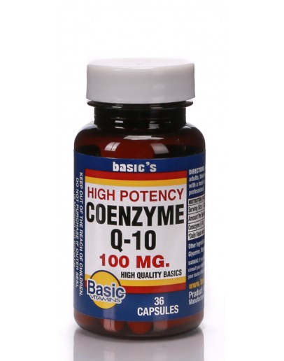 CO ENZYME Q-10 100mg. Softgels