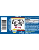 ALPHA LIPOIC ACID 100mg.Capsules