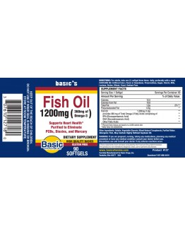 FISH OIL 1200mg. Softgels