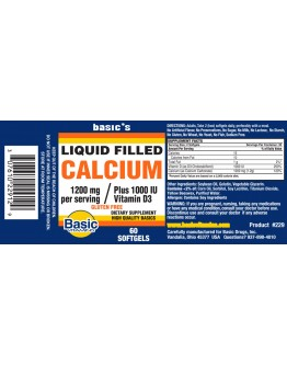 LIQUID FILLED CALCIUM Softgels