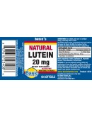 LUTEIN 20mg. NATURAL Softgels