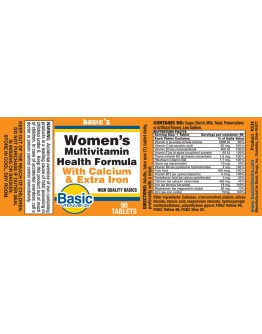 Women's DAILY VIT W CALCIUM & IRON Tablets
