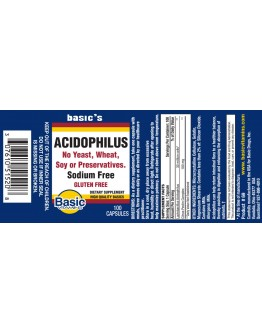 ACIDOPHILUS Capsules (30 million)