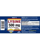 LYSINE 500mg. Tablets