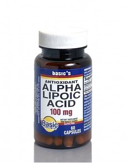 ALPHA LIPOIC ACID 100mg.Capsules