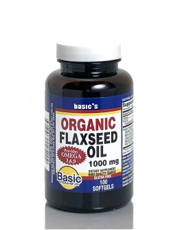 FLAXSEED OIL 1000mg. Softgels