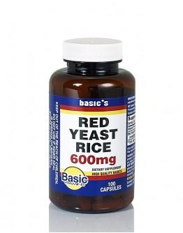 RED YEAST RICE 600mg. Capsules