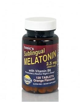 Melatonin Sublingual 2.5mg. Tablets