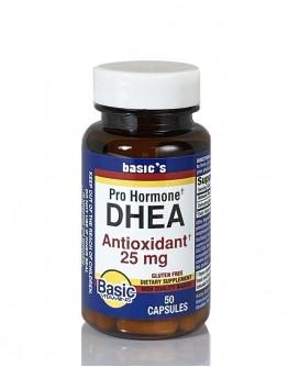 DHEA 25mg. Capsules