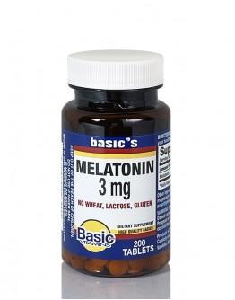 MELATONIN 3mg. Tablets