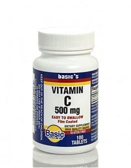 500mg. VIT C Tablets