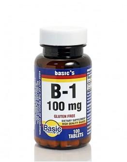 VITAMIN B-1 100mg. Tablets