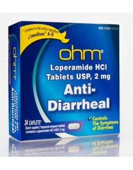 Anti Diarrheal Loperamide 2mg. tablets