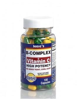 B/COMPLEX + VIT C Capsules