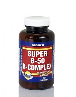 SUPER B-50 COMPLEX Capsules