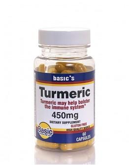 TURMERIC 450mg. Capsules