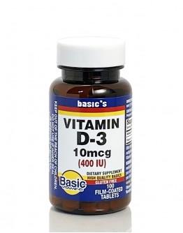 VIT D 400 I.U. Tablets