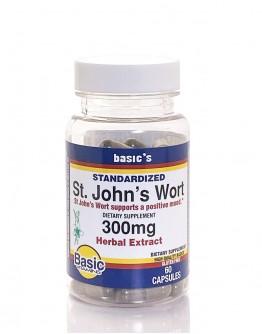 ST. JOHN'S WORT 300mg. Capsules