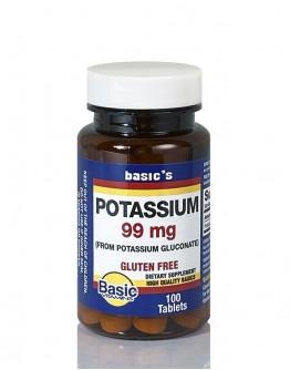 POTASSIUM GLUCONATE Tablets 99mg