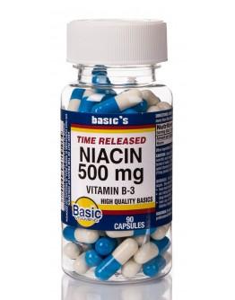 NIACIN T.R. 500mg. Capsules
