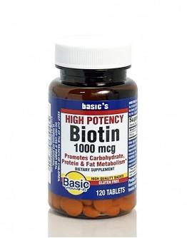 BIOTIN 1000mcg Tablets