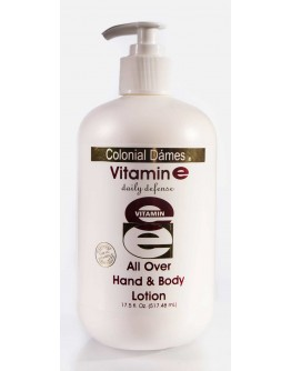 Vit e all over hand & body lotion