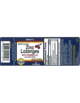 ZINC LOZENGES + VIT C Tablets