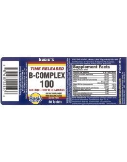 B/COMPLEX 100 T.R. Tablets