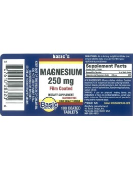 MAGNESIUM OXIDE 250mg.Tablets