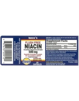 NO FLUSH NIACIN 500mg Capsules