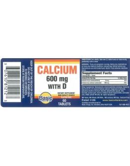 CALCIUM 600 W D Tablets