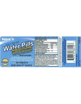 BASIC'S WATER PILL Tablets